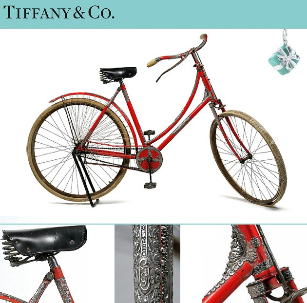7. 1890 Tiffany & Co. Bicycle
